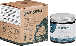 Profumi e cosmetici Dentifricio naturale - Georganics English Peppermint Natural Toothpaste