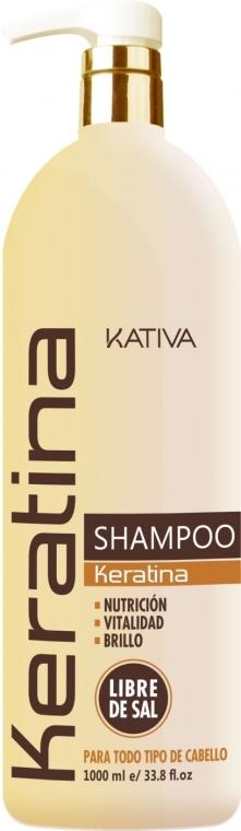 Shampoo - Kativa Keratina Shampoo — foto N4