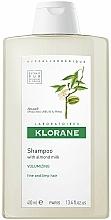 Profumi e cosmetici Shampoo con mandorle per aggiungere volume ai capelli sottili - Klorane Volumising Shampoo with Almond Milk