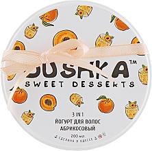 """Profumi e cosmetici Yogurt per capelli """"Albicocca"""" - Dushka"""