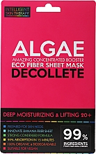 Profumi e cosmetici Maschera express per la zona del décolleté - Beauty Face IST Deep Moisturizing & Lifting Decolette Mask Algae