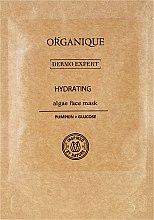 Maschera di alginato ultraidratante alla zucca e glucosio - Organique Pumpkin line Mask — foto N1