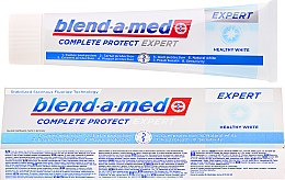 Profumi e cosmetici Dentifricio - Blend-a-med Complete Protect Expert Healthy White Toothpaste