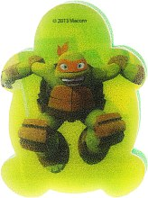 "Spugna da bagno per bambini ""Ninja Turtles"" Michelangelo 3 - Suavipiel Turtles Bath Sponge — foto N1"