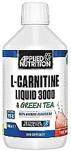 """Profumi e cosmetici Integratore alimentare """"L-Carnitine Liquid 3000 & Green Tea, Sour Apple"""" - L-Carnitine Liquid 3000 & Green Tea, Sour Apple"""