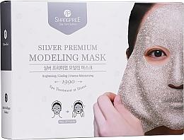 Profumi e cosmetici Maschera viso - Shangpree Silver Premium Modeling Mask (gel/5x50g + powder/5x4,5g)