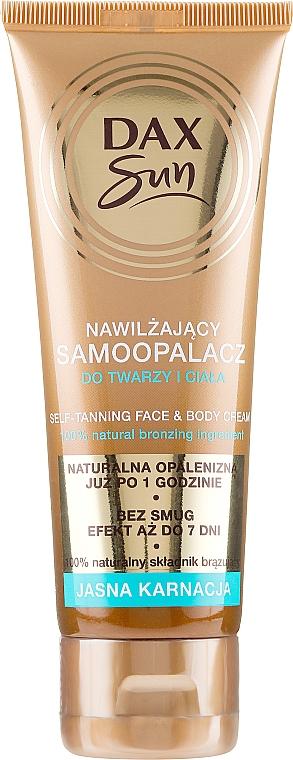 Abbronzante per la pelle chiara - DAX Sun Extra Bronze Self-Tanning Cream