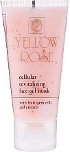 Profumi e cosmetici Maschera gel tonificante alle cellule staminali (tubo) - Yellow Rose Cellular Revitalizing Gel Mask