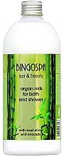 Profumi e cosmetici Latte da bagno con argan e avocado - BingoSpa