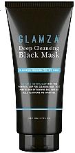 Profumi e cosmetici Maschera viso purificante - Glamza Deep Cleaning Black Face Mask