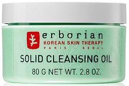 Profumi e cosmetici Olio struccante - Erborian Solid Cleansing Oil