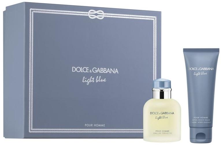 Dolce & Gabbana Light Blue Pour Homme Set - Set (edt/75ml + ash/balm/75ml)