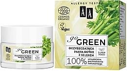 Profumi e cosmetici Pasta disintossicante detergente al sedano - AA Go Green