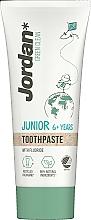 Profumi e cosmetici Dentifricio, 6-12 anni - Jordan Green Clean Junior