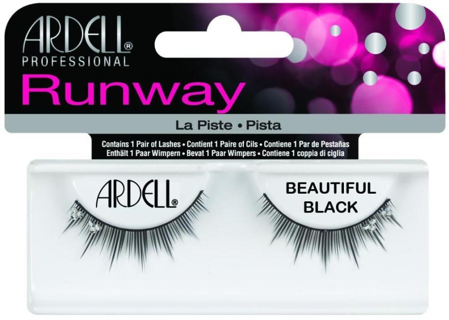 Ciglia finte - Ardell Runway Lashes Beautiful Black — foto N1