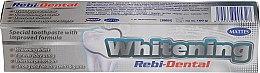Profumi e cosmetici Dentifricio sbiancante - Mattes Rebi-Dental Whitening Toothpaste