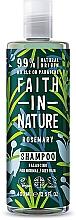 """Profumi e cosmetici Shampoo per capelli normali e grassi """"Rosmarino"""" - Faith In Nature Rosemary Shampoo"""