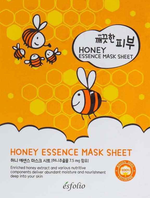 Maschera in tessuto al miele - Esfolio Pure Skin Essence Mask Sheet Honey