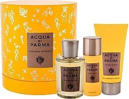 Profumi e cosmetici Acqua Di Parma Colonia Intensa - Set (edc/100ml + sh/gel/75ml + deo/50ml)