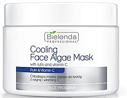 Profumi e cosmetici Maschera viso alle alghe e vitamina C - Bielenda Professional Cooling Face Algae Mask