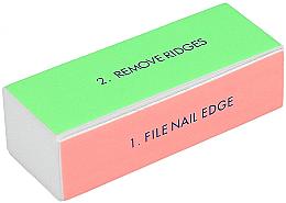 Profumi e cosmetici Buffer a quattro lati per unghie, largo - Tools For Beauty 4-way Nail Buffer Block