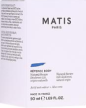 Profumi e cosmetici Deodorante - Matis Reponse Body Deodorant
