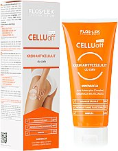 Profumi e cosmetici Crema anticellulite - Floslek Slim Line Anti-Cellulite Body Cream Cellu Off