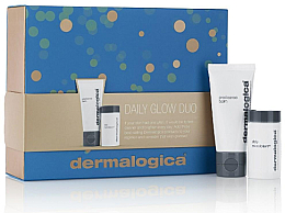 Profumi e cosmetici Set - Dermalogica Daily Glow Duo (f/balm/15ml + f/microfoliant/4 g)