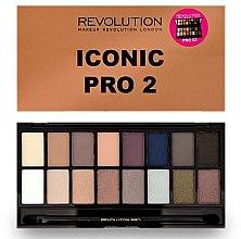 Profumi e cosmetici Palette ombretti, 16 tonalità - Makeup Revolution Salvation Eyeshadow Palette Iconic Pro 2