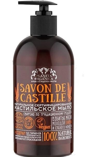 """Sapone liquido """"Castigliano"""" - Planeta Organica Savon De Castille"""