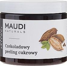 """Profumi e cosmetici Scrub allo zucchero per corpo """"Cioccolato con carbone attivo"""" - Maudi"""