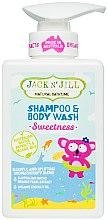Profumi e cosmetici Gel doccia-shampoo 2 in 1 per bambini - Jack N' Jill Sweetness Shampoo & Body Wash