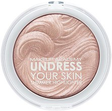 Profumi e cosmetici Illuminante viso - MUA Makeup Academy Shimmer Highlighter Powder