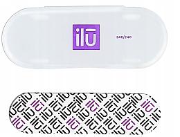 Profumi e cosmetici Lima unghie - Ilu Nail File With Case Mini 240/240