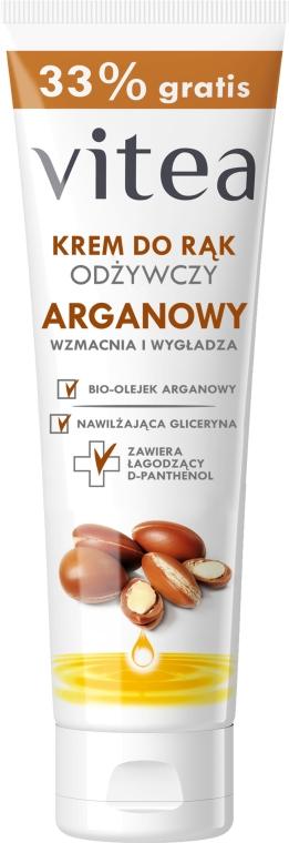 Crema mani nutriente con olio argan - Vitea Moisturizing Hand Cream Argan Oil