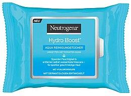 Profumi e cosmetici Salviettine umidificate - Neutrogena Hydro Boost