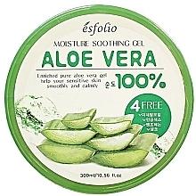 Profumi e cosmetici Gel idratante all'aloe vera - Esfolio Moisture Soothing Gel Aloe Vera 100% Purity