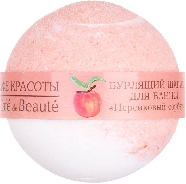 "Bomba da bagno ""Sorbetto alla pesca"" - Le Cafe de Beaute Bubble Ball Bath"
