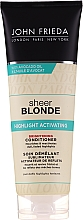 Profumi e cosmetici Condizionante illuminante - John Frieda Sheer Blonde Highlight Activating Brightening Conditioner