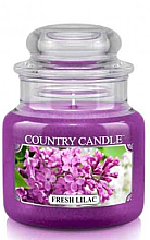"Profumi e cosmetici Candela profumata ""Fresh Lilac"" (in vetro) - Country Candle Fresh Lilac"