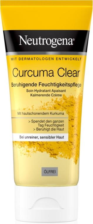 Crema idratante leggera con estratto di curcuma - Neutrogena Curcuma Clear Cream