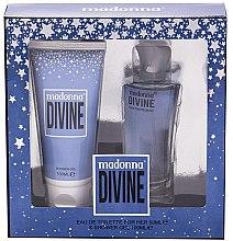 Profumi e cosmetici Madonna Divine - Set (edt/50ml+sh/gel/100ml)
