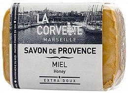 """Profumi e cosmetici Sapone provenzale """"Miele"""" - La Corvette Provence Soap Honey"""