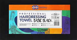 Profumi e cosmetici Asciugamani monouso in rotolo, 50 pz, nere - Ronney Professional Hairdressing Towel Basic Black