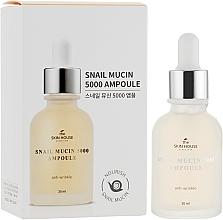 Profumi e cosmetici Siero ringiovanente alla bava di lumaca e collagene - The Skin House Snail Mucin 5000 Ampoule