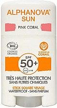 Profumi e cosmetici Stick solare - Alphanova Sun Pink Coral SPF50+