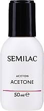 Profumi e cosmetici Acetone cosmetico - Semilac Acetone