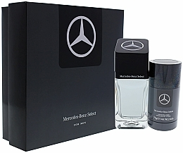 Profumi e cosmetici Set - Mercedes Benz Select Gift Set (edt/100ml + dst/75ml)
