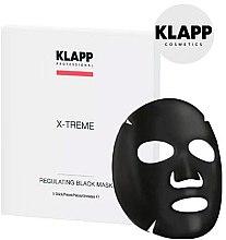Profumi e cosmetici Maschera regolante nera - Klapp X-Treme Regulating Black Mask