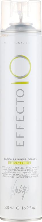 Lacca per capelli fissazione forte - Vitality's Effecto Lacca Professionale Tenuta Forte